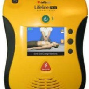 Defibtech Lifeline VIEW Video Defibrillator with 4 yr Battery - SET