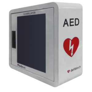 Defibtech Wall Mount Cabinet with Alarm