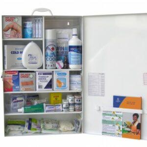 First Aid Kit - LARGE - Metal Wall Mount