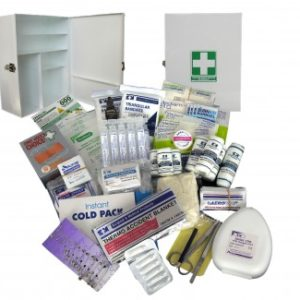 First Aid Kit - SMALL- Metal Wall Mount