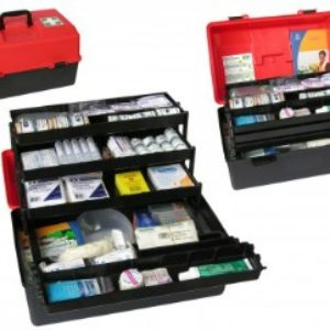 National Compliant First Aid Kit - TOP SHELF - Portable Box
