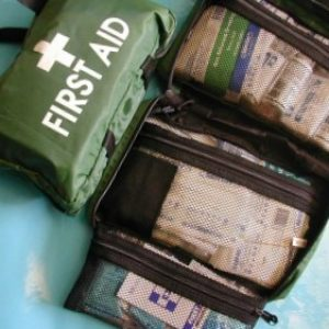 National Compliant First Aid Kit - SMALL - Soft Pack Green